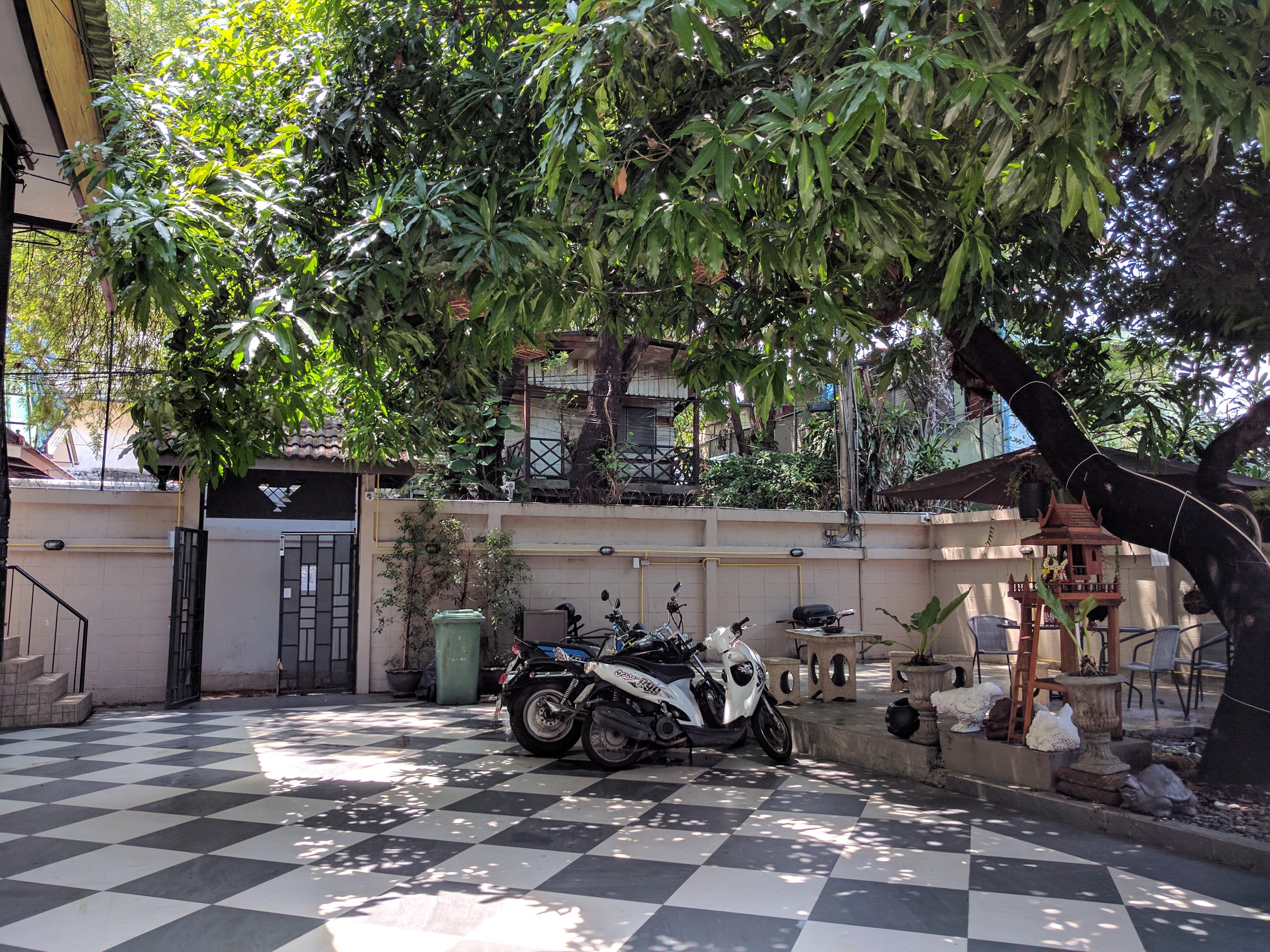 Cour hotel à Bangkok