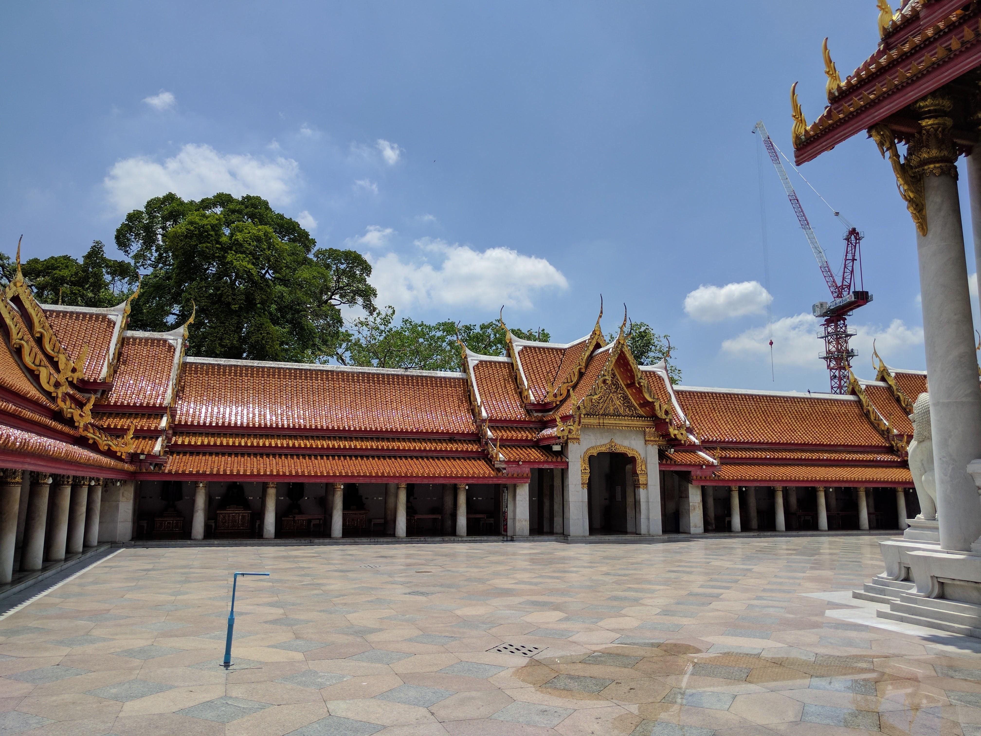 Bangkok temple trois rois