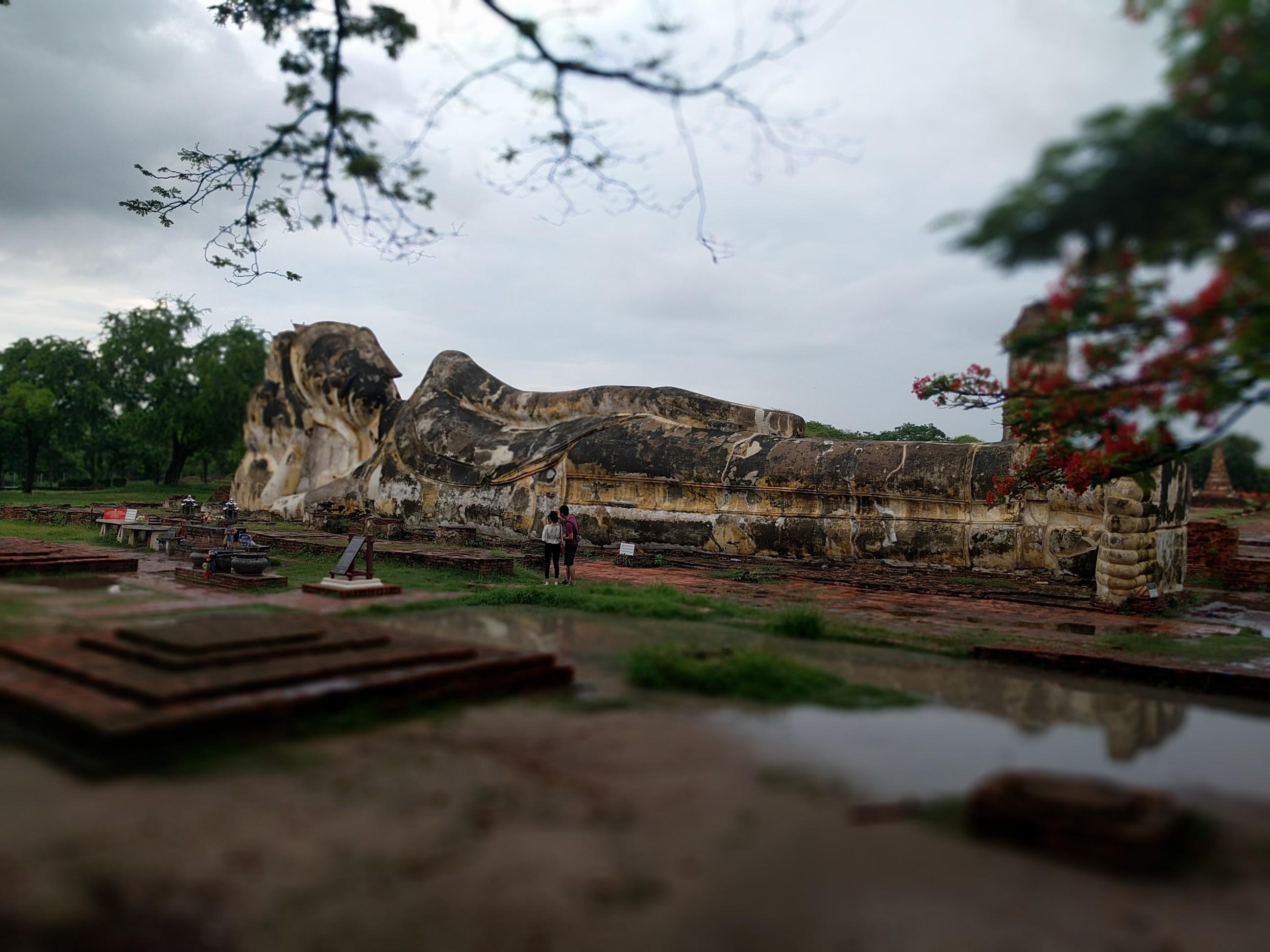 Boudda couché Ayutthaya
