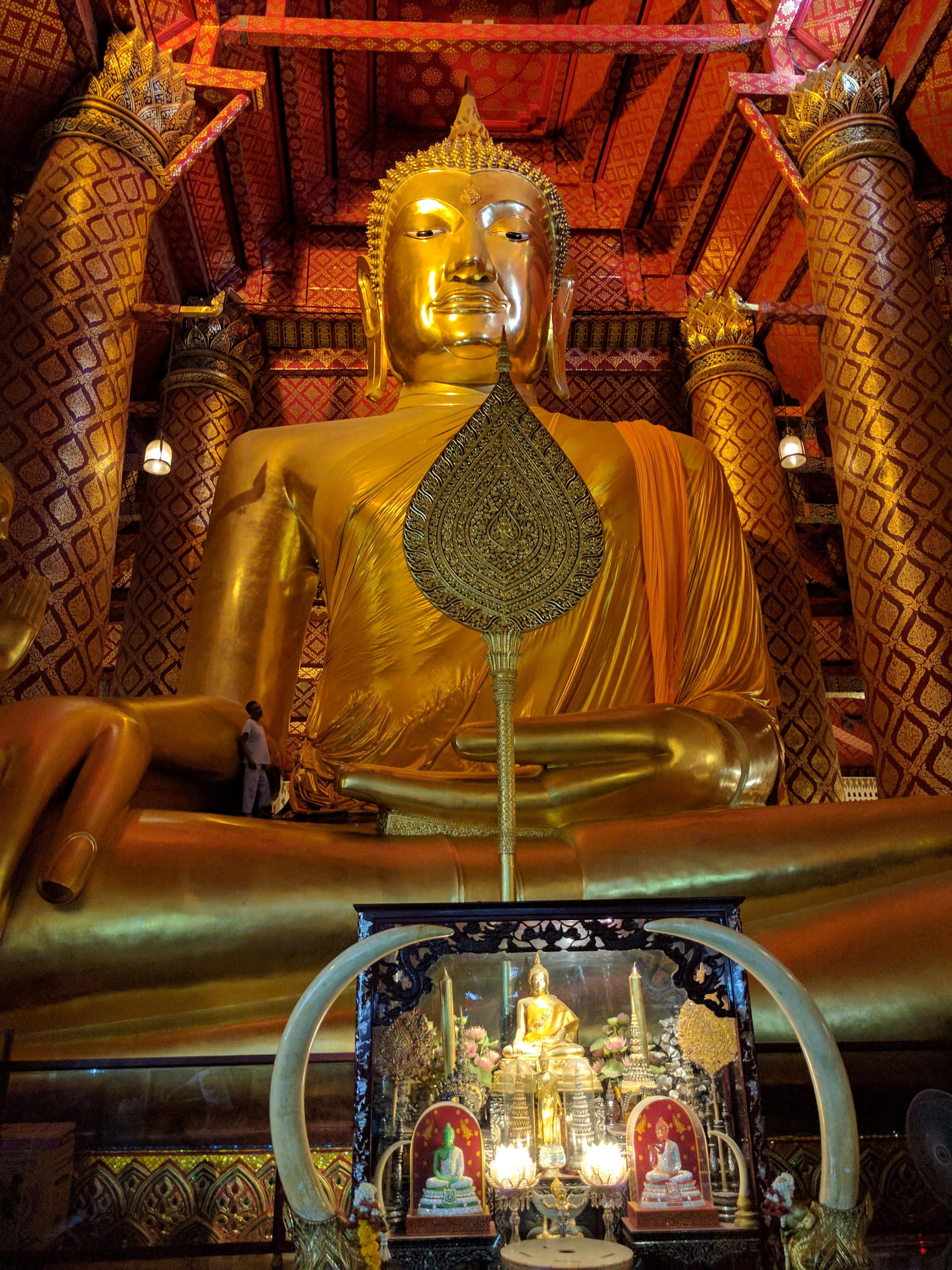 Ayutthaya bouddha doré