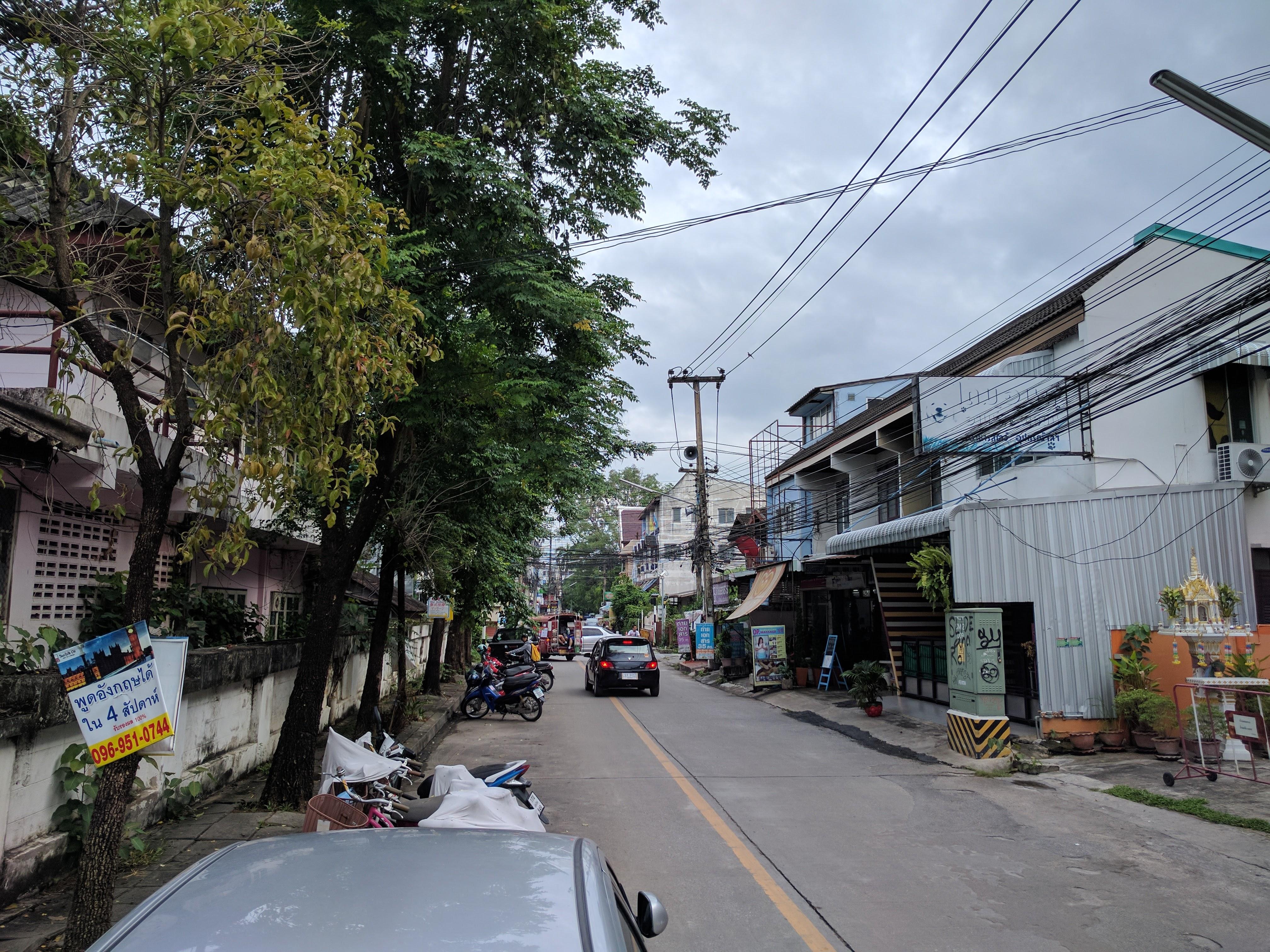 Chiang Mai rue
