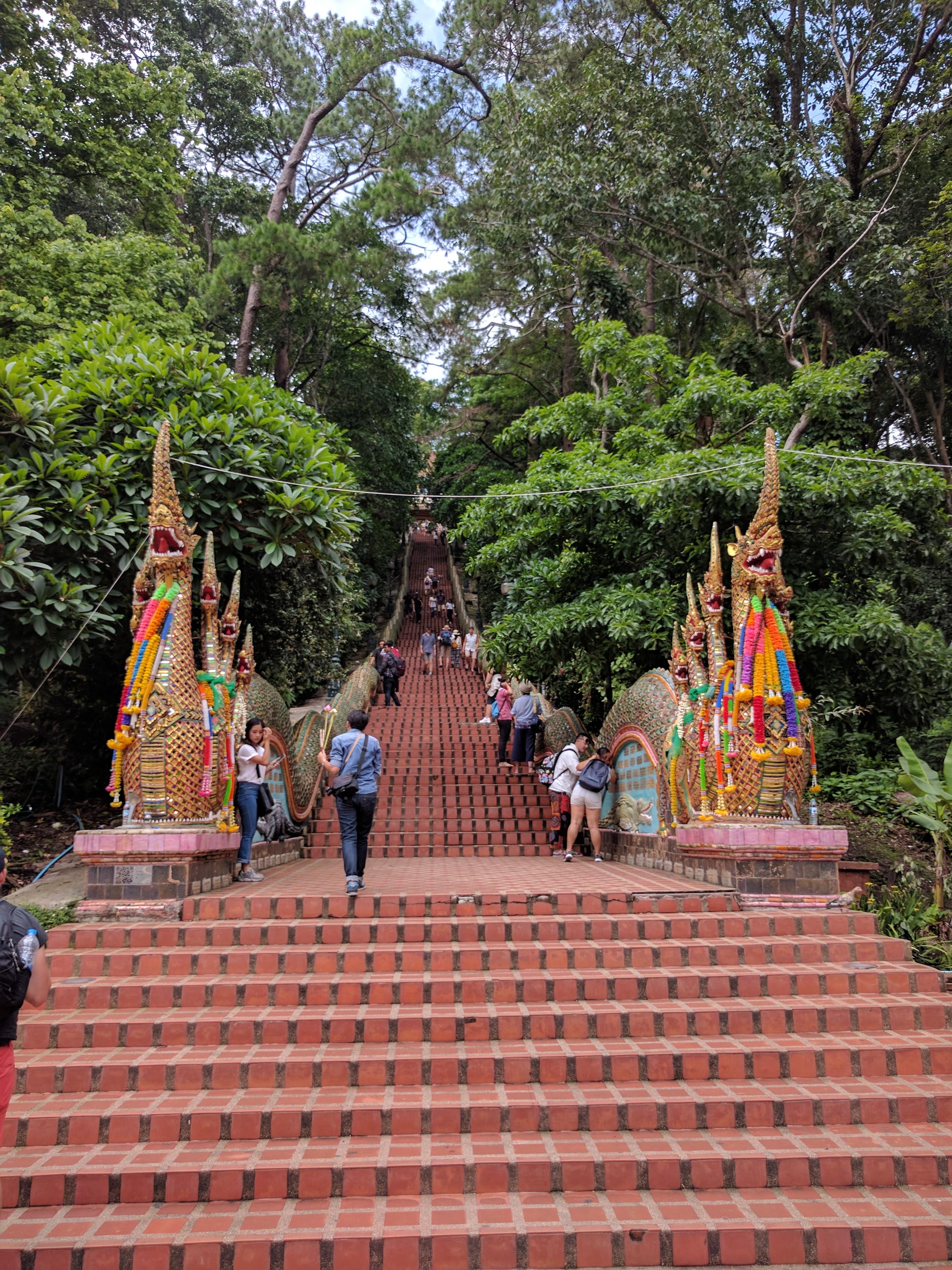 Escalier Doi Suthep