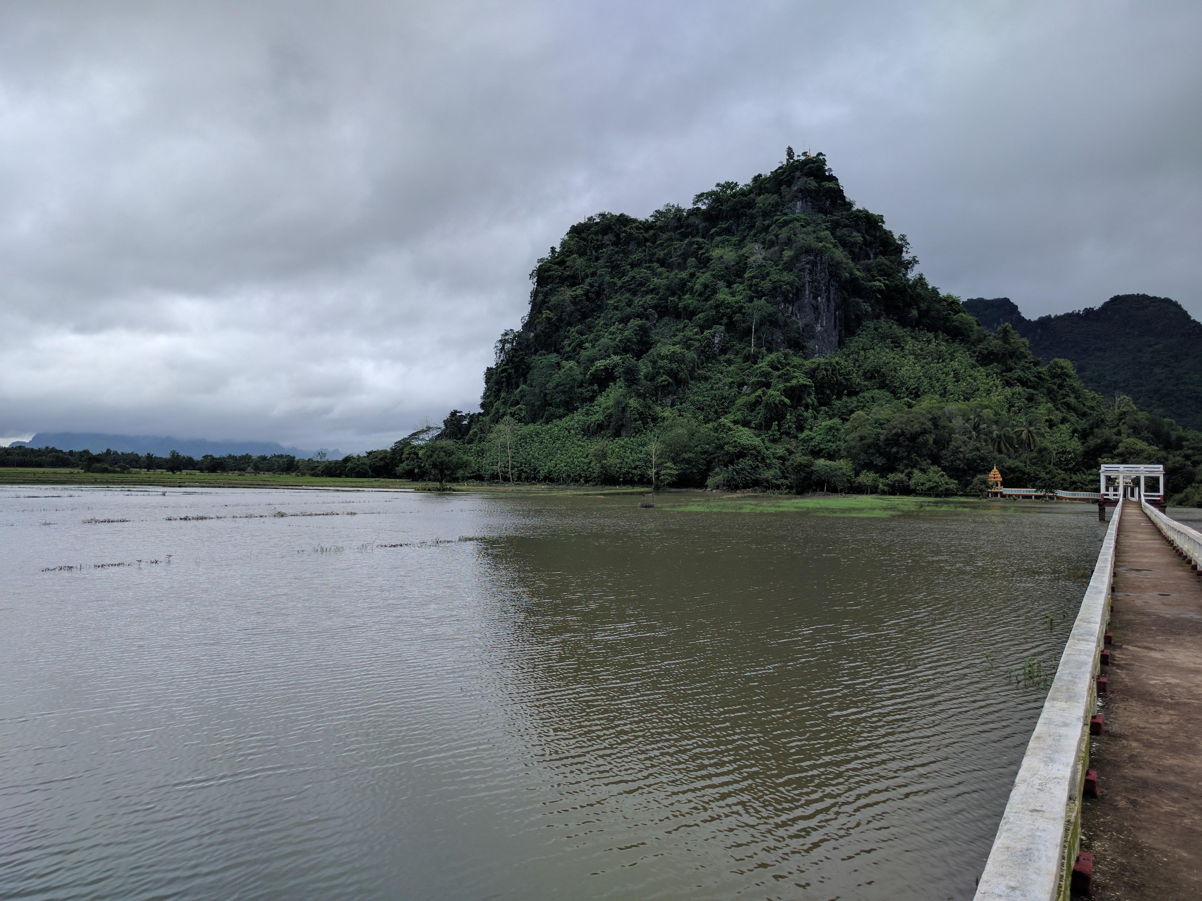 Premier paysage birman