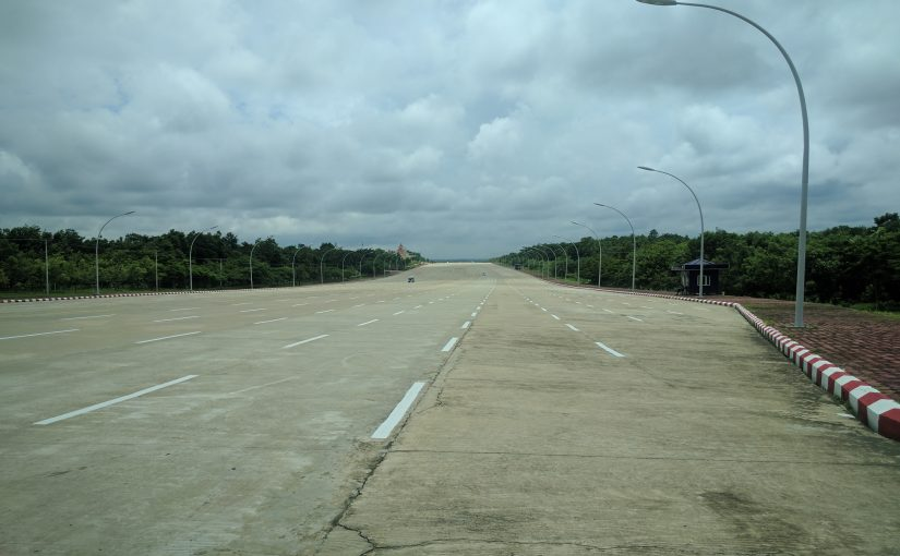 Route Naypyidaw