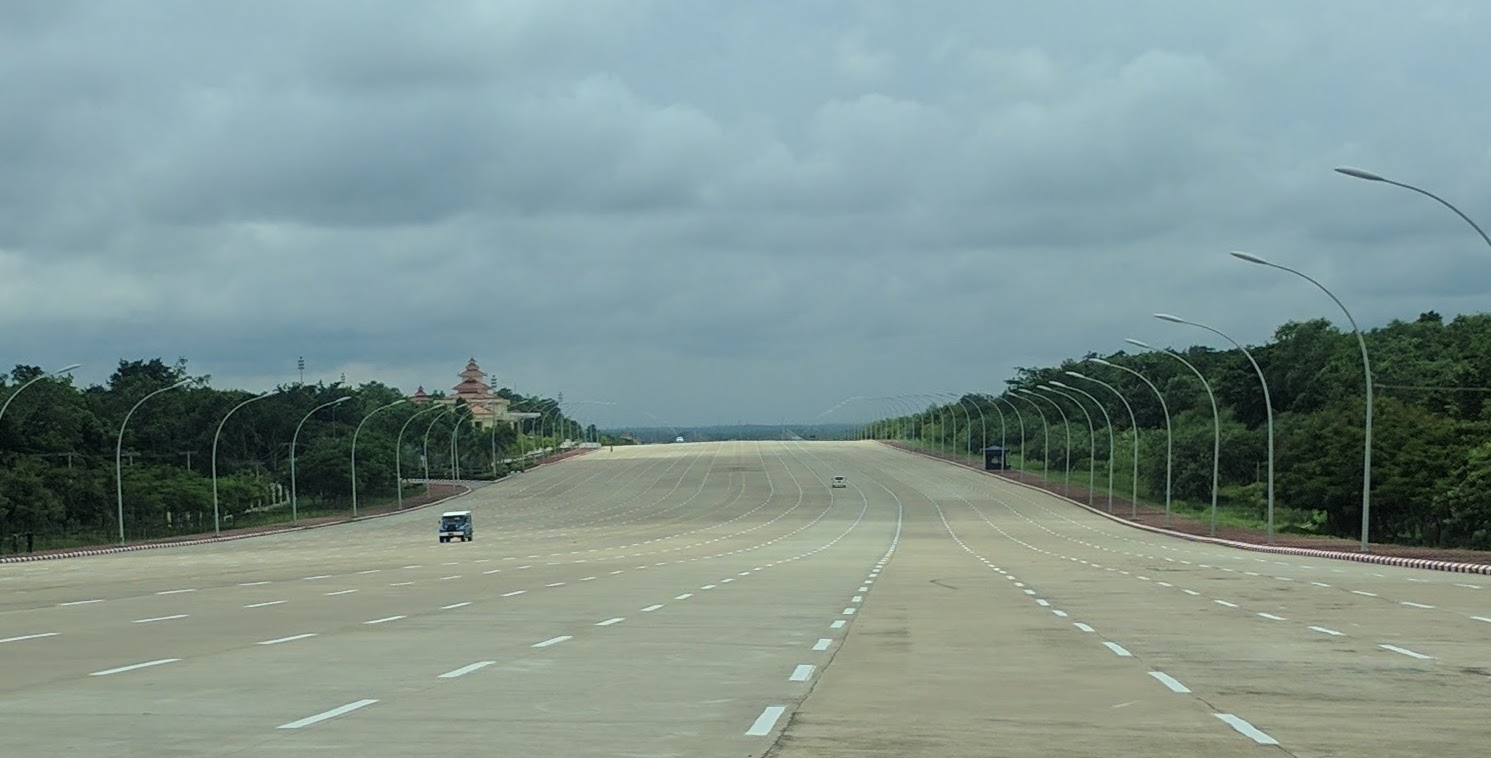 Route Naypyidaw zoom