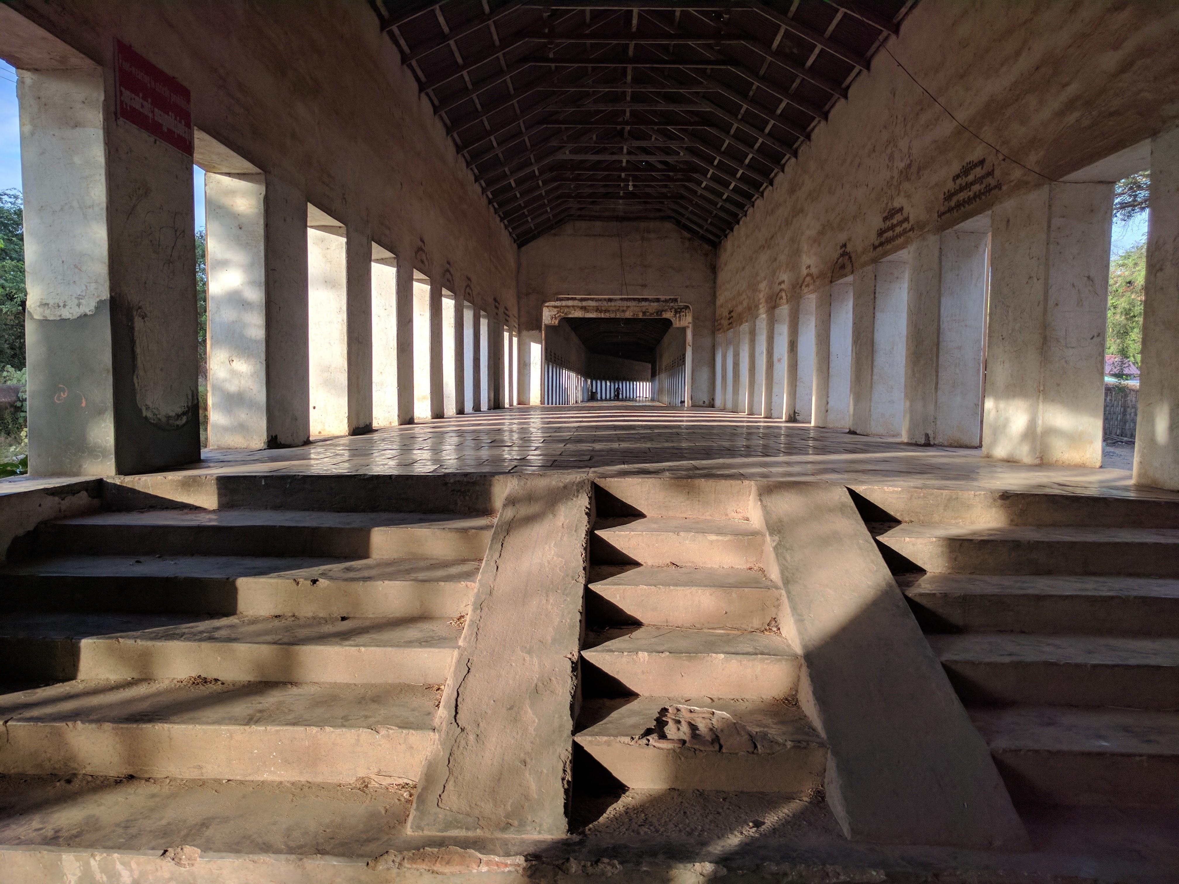 Bagan stairway