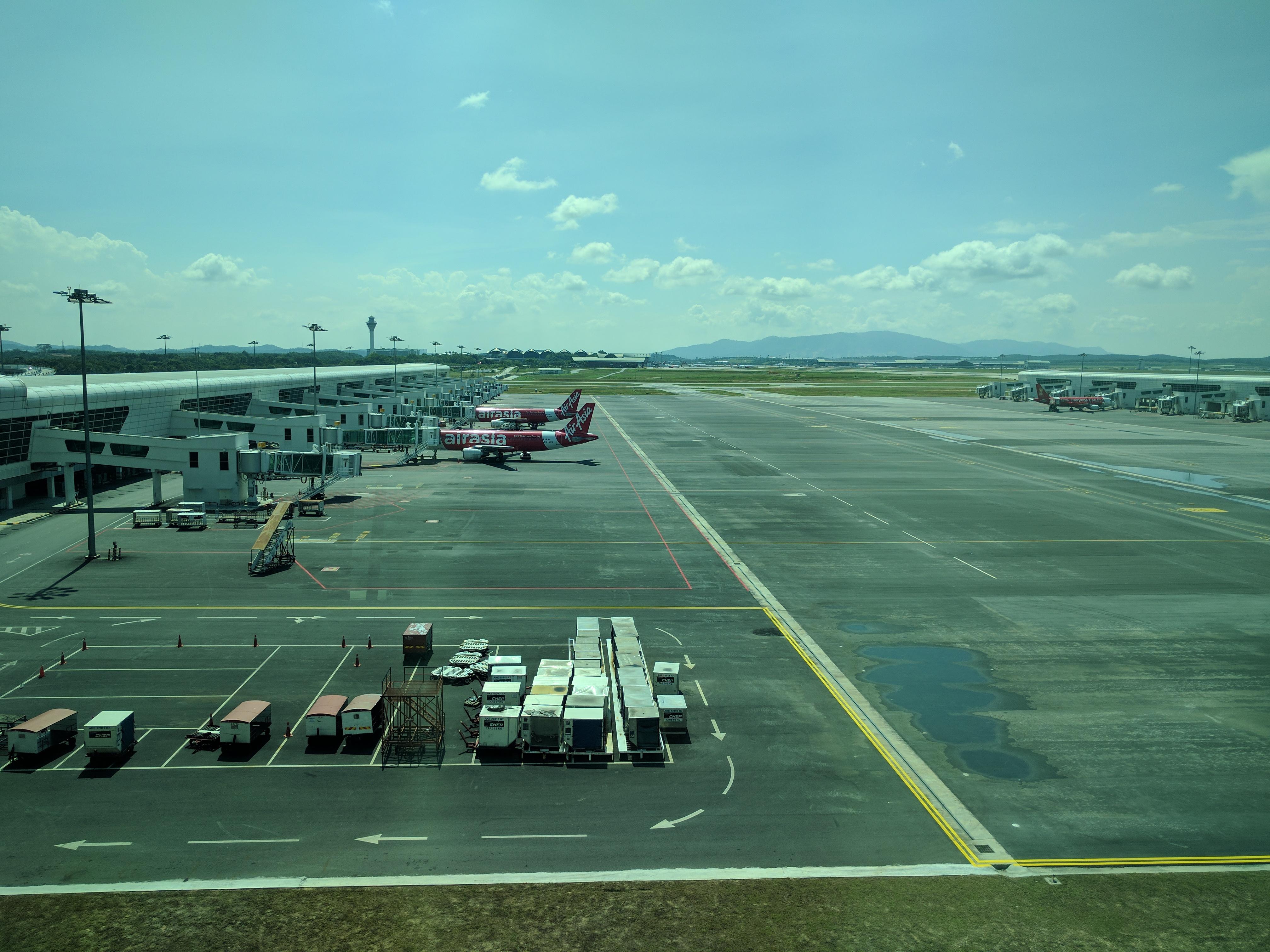 Malaisie, aéroport de KL