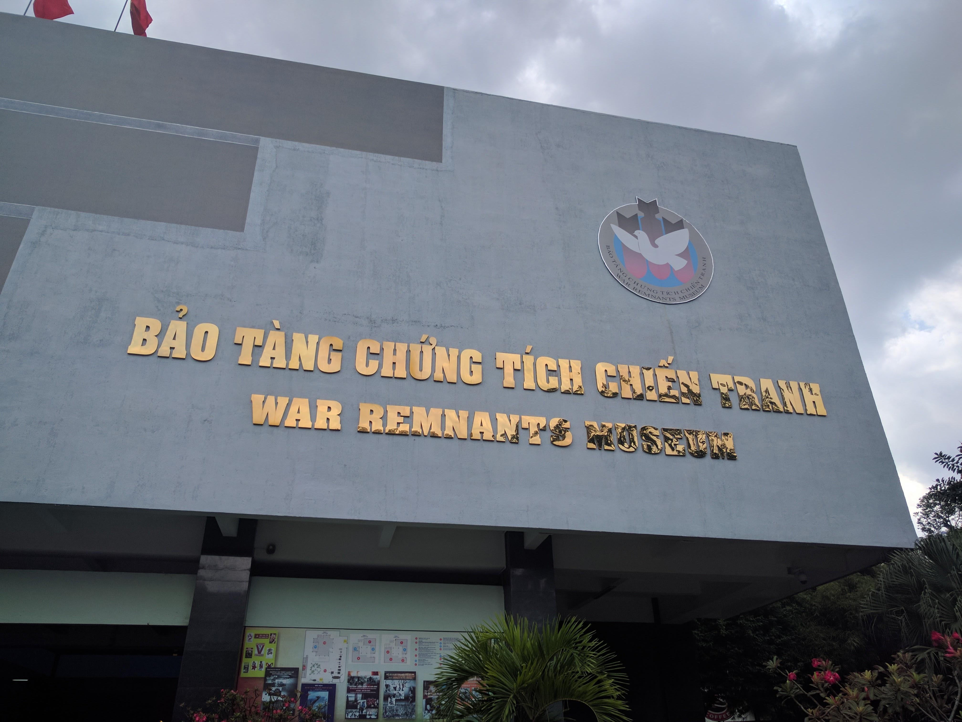 Musée des vestiges de guerre Saigon