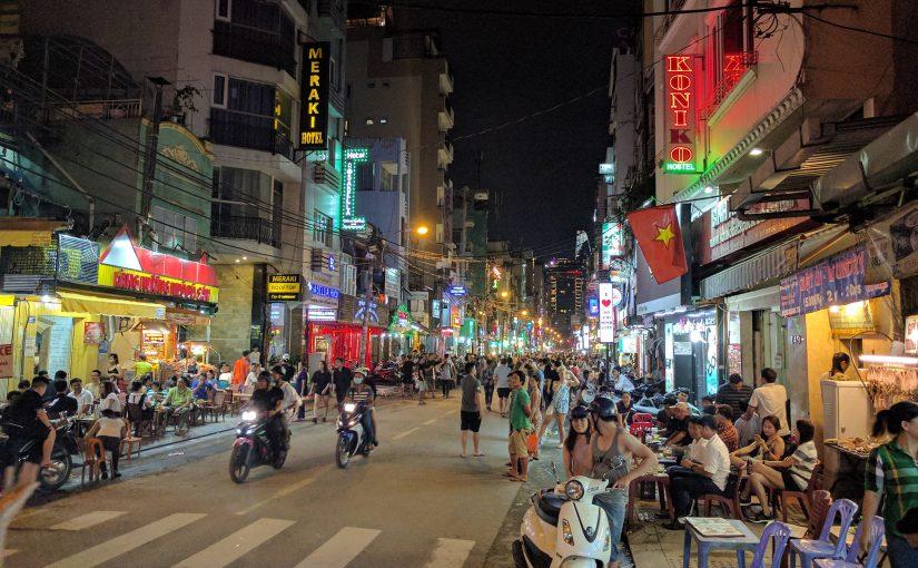 Quartier Backpacker Saigon