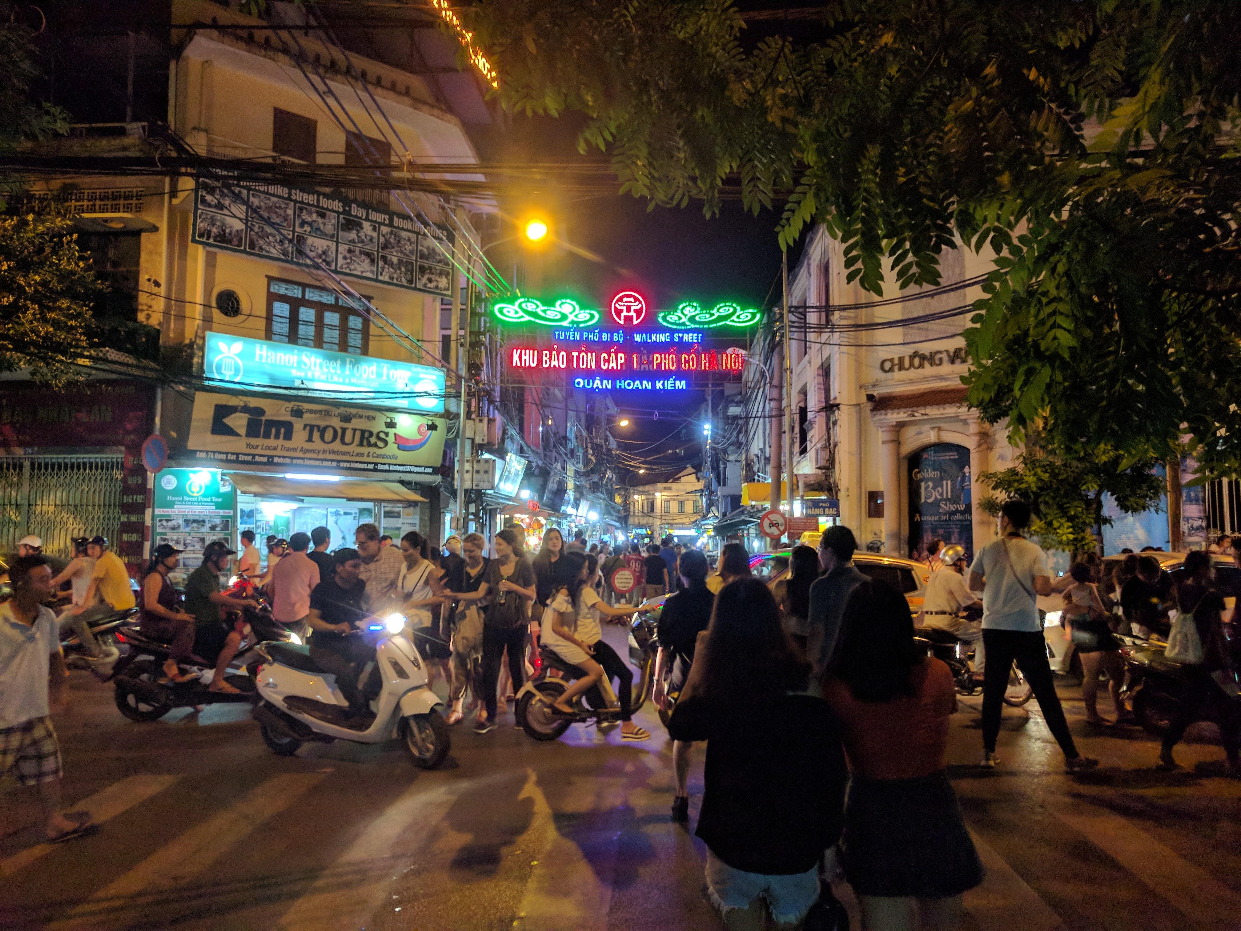 Hanoï rue agitée