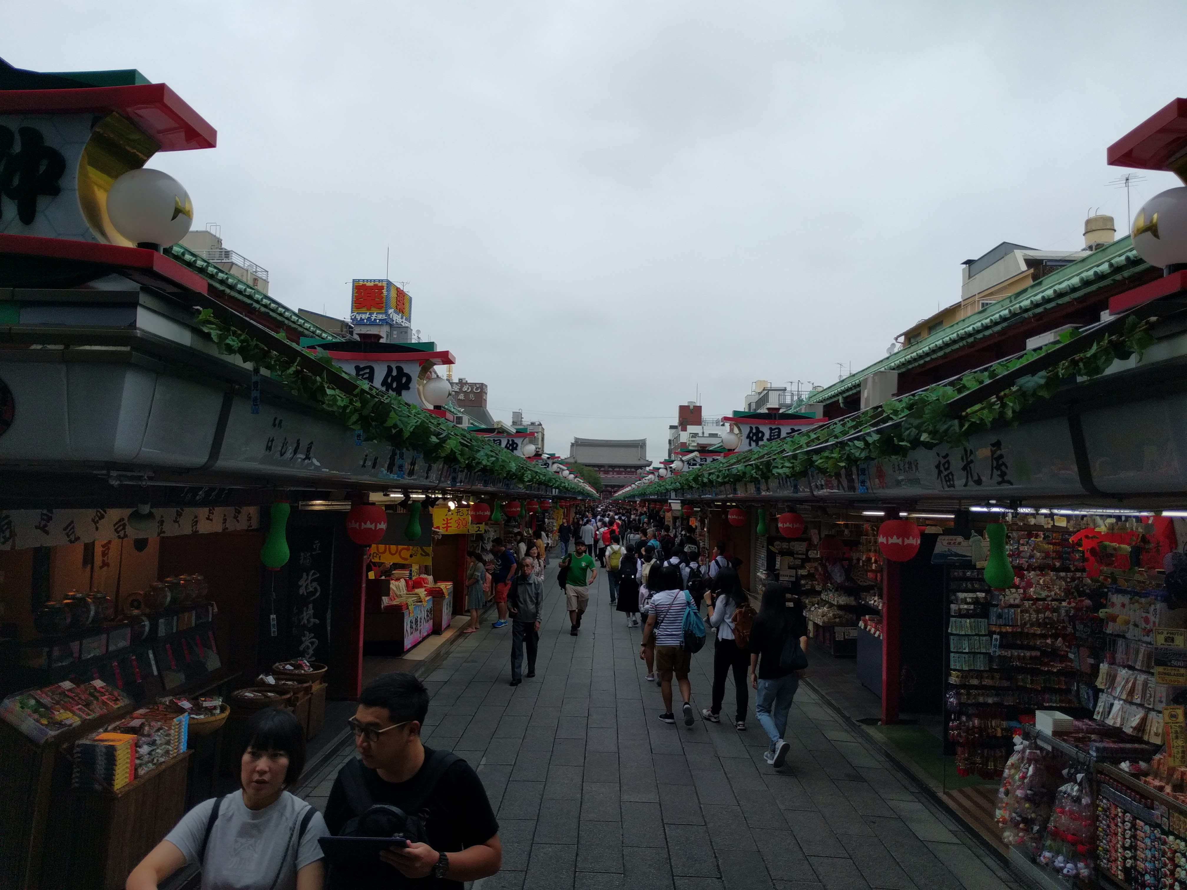 Ruelle temple Tokyo