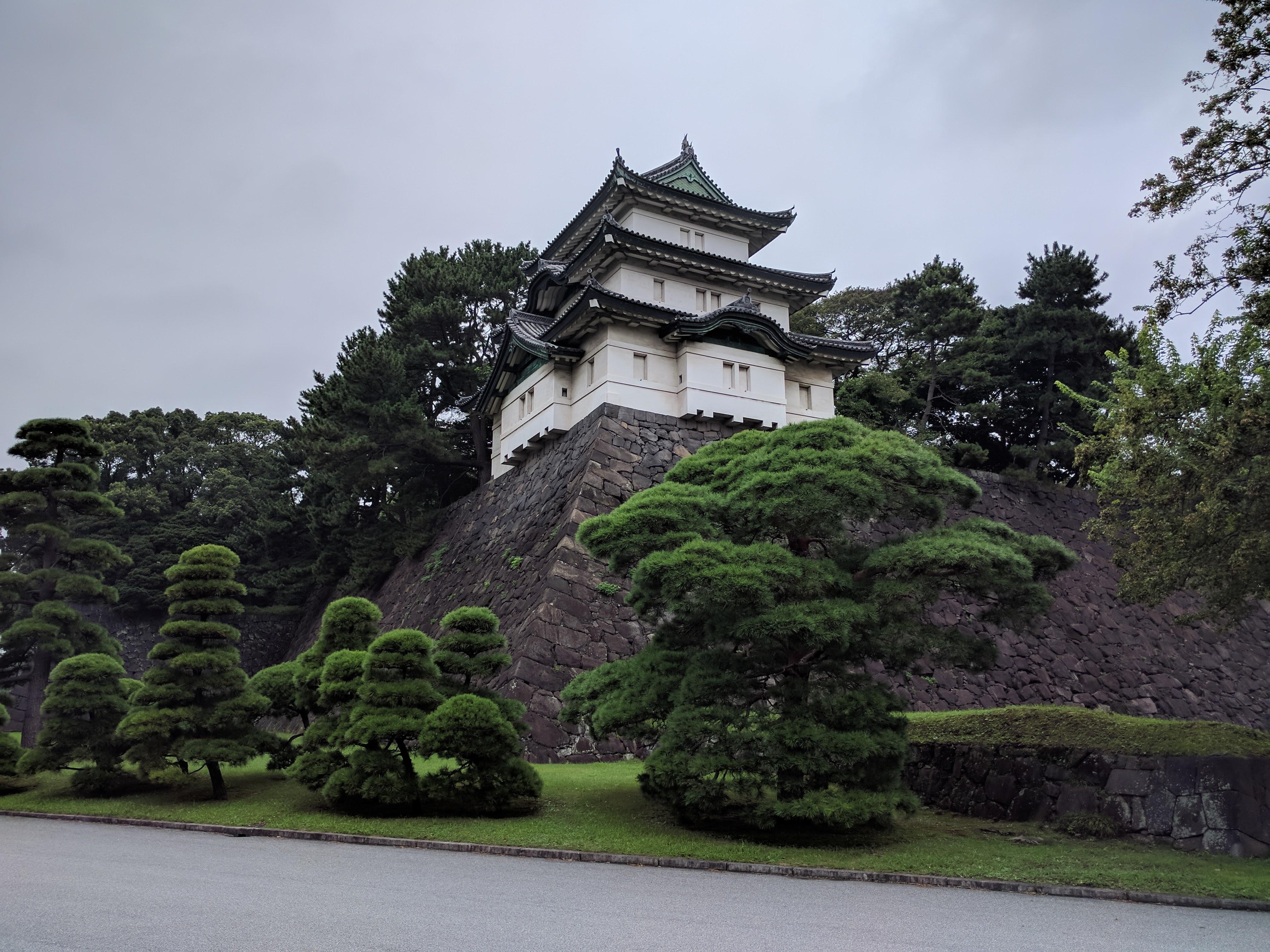 Tour palais impérial tokyo